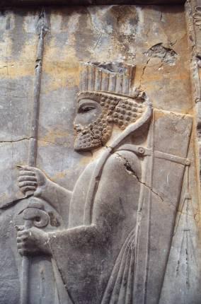 Een Perzisch soldaat