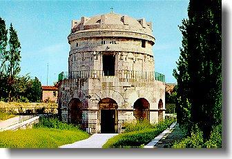 Graf van Theodorik, koning van Italie, in Ravenna