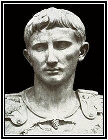 Octavianus, later Augustus genaamd