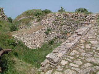 De ruines van Troje