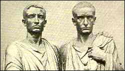 Tiberius en Gaius Gracchus